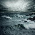 Ocean storm Royalty Free Stock Photo