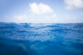 Ocean Surface Royalty Free Stock Photo