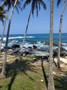 Ocean view in tangalle Royalty Free Stock Photo