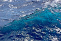 Ocean water surface Stock Photos