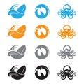 Ocean Waves Octopus