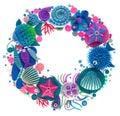 Oceanic wreath