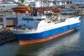Oceanographic Western Spirit repairs