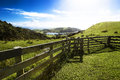 Oceanside Pastures Royalty Free Stock Photo