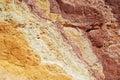 Ochre texture Royalty Free Stock Photo