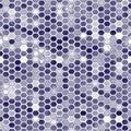 Octagon cells seamless texture Royalty Free Stock Photo