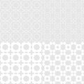 Octagon seemless seemlessl pattern gray color vector Stock Photography