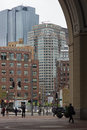 October 24, 2014 - Rowes Wharf, Boston Massachusetts, Royalty Free Stock Photo