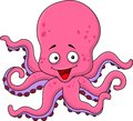 Octopus cartoon Stock Images