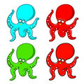 Octopus Cartoon Stock Photos
