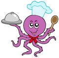 Octopus chef Royalty Free Stock Photo