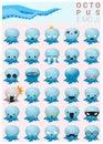 Octopus emoji icons