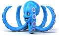 Octopus fun d generated illustration Stock Image