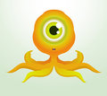 Octopus Monster Royalty Free Stock Photo