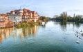 Od Windsor downstream Royalty Free Stock Image