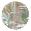 Odd Shaped Iridescent Button Royalty Free Stock Photography
