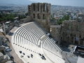 Odeion of Herodes Atticus Royalty Free Stock Photography