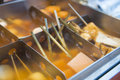 Oden japanese street food Royalty Free Stock Photo