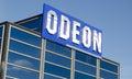 Odeon biotecken Arkivbilder