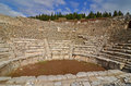 Odeon at ephesus the ancient roman turkey Royalty Free Stock Photo