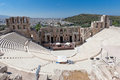 Odeon of Herodes Atticus Athens Greece Royalty Free Stock Photos