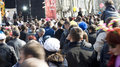 ODESSA April, 1: people watch free concert Royalty Free Stock Image
