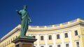 Odessa duk de reshiliet monument in Royalty Free Stock Photography