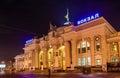 Odessa main rail station ukraine in Royalty Free Stock Photo