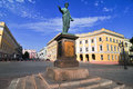 Odessa, Ukraine. Statue of Duke Richelieu Royalty Free Stock Photo