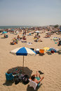Odpocząć na plaży Zdjęcia Stock