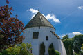 Oesterlars Rundkirke Royalty Free Stock Photo
