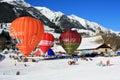 Oex chaud de festival du château d de ballon à air 2009 Image stock