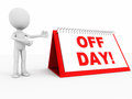 Off day Stock Image