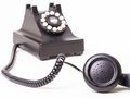 Off the hook - vintage phone off the hook Royalty Free Stock Image