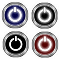 On/off icon Royalty Free Stock Image
