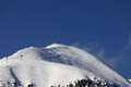 Off piste slope and ski lift caucasus mountains georgia resort gudauri mt sadzele Royalty Free Stock Photos