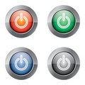 On Off Power button Royalty Free Stock Photos