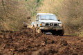 Off-road 4x4 lifestyle and hobby. Blur motion. Stock Photo