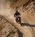 Off Road Motorcycle Racer 2 Stock Images