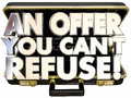 An Offer You Cant Refuse Briefcase Deal Proposal Threat Royalty Free Stock Photo