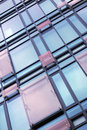 Office building big center with glass windows Royalty Free Stock Photos