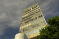Office building in elephant and castle london uk Royalty Free Stock Image