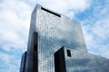 Office building with glass facade Royalty Free Stock Photo