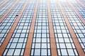 Office building with one open window facade of Royalty Free Stock Photography