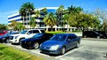 Office building and parking lot, South Florida Royalty Free Stock Photo