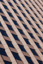 Office building pattern in Boston Royalty Free Stock Photography