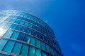 Office building and reflection in London, England, background Royalty Free Stock Photo