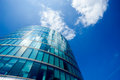 Office building and reflection in london england background summer Royalty Free Stock Images