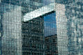 Office building reflection Royalty Free Stock Photo