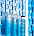 Office building windows Royalty Free Stock Image